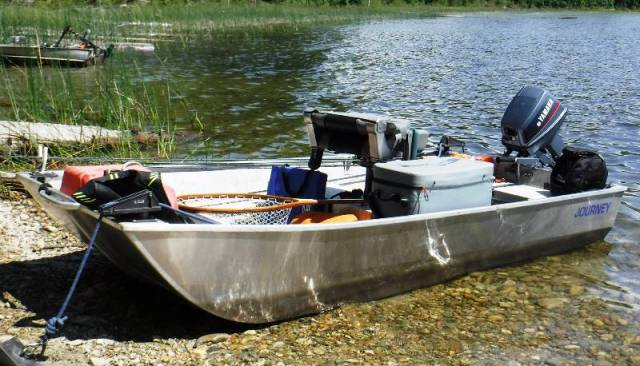 """Journey Boats (9'6"""") - Handling everything """"including"""" the kitchen sink!"""