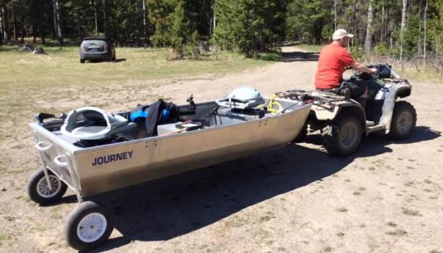 Journey Boats - Wheel Kit