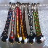 Two Tone Black & White Glass Fly Tying Beads Bomber Chironomids