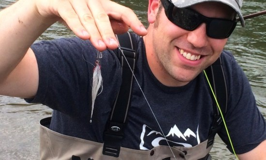 A Bullish Market Rocky Mountain River Fishing Report - Chewed Up Dirty Rabbit Fly