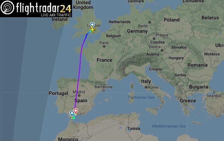 Flight BA492