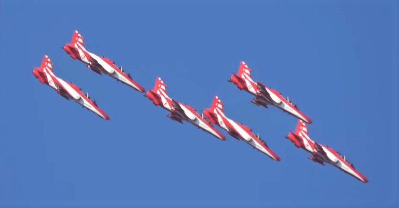 Indian AF Suriya Kiran Aerobatic Team