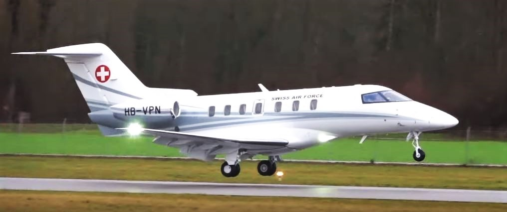 Swiss Air Force One