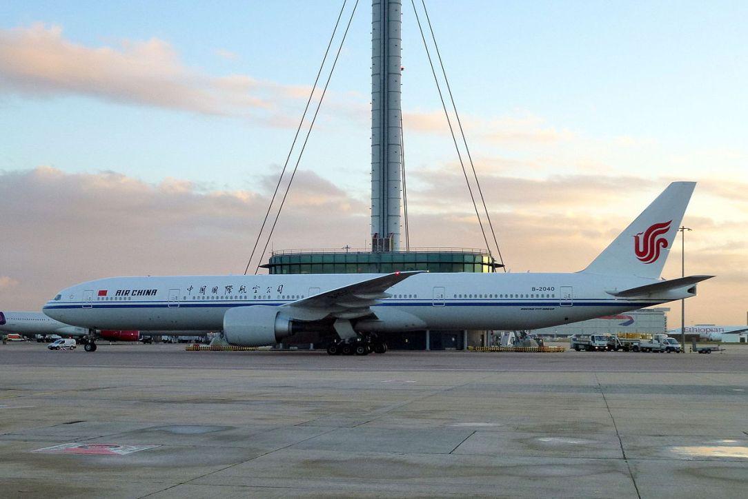 Air China Boeing 777 B-2040