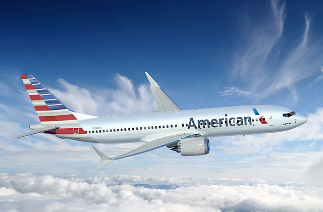 American Boeing 737 MAX 8