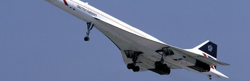 British Airways Concorde (G-BOAC)