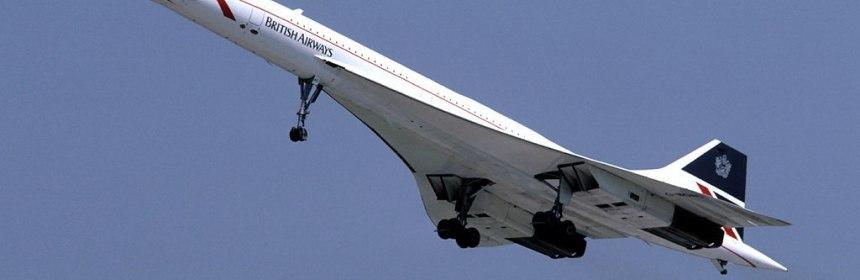 British Airways Concorde (G-BOAC)