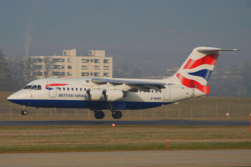 British Airways BAe 146-200