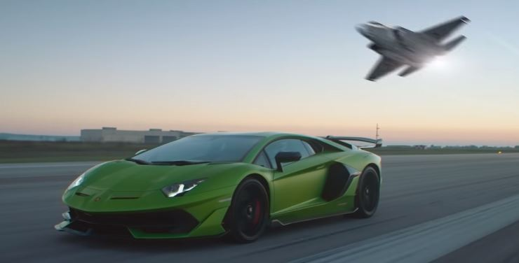 VIDEO - SHAPING THE FUTURE: F-35 LIGHTNING II & LAMBORGHINI AVENTADOR SVJ