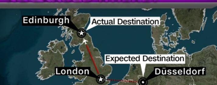BA plane lands at wrong airport
