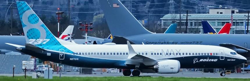 Boeing 737-8 MAX at BFI