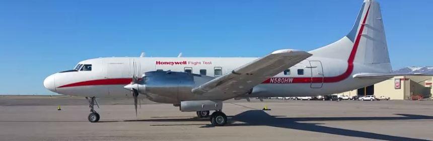 Honeywell Convair 580