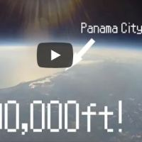 VIDEO - THESE U.S. STUDENTS HAVE SENT A BALLOON TO THE EDGE OF SPACE
