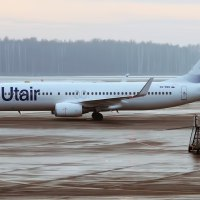 UTAIR B737 ENGINE CATCHES FIRE BEFORE TAKE OFF IN MOSCOW