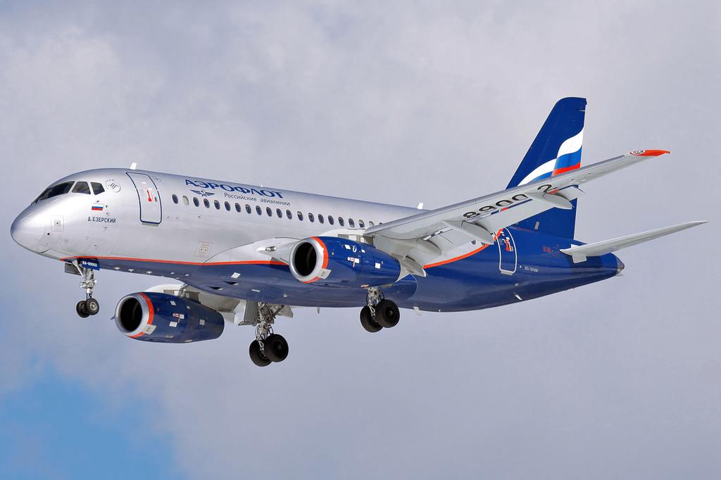 Aeroflot Sukhoi Superjet 100-95