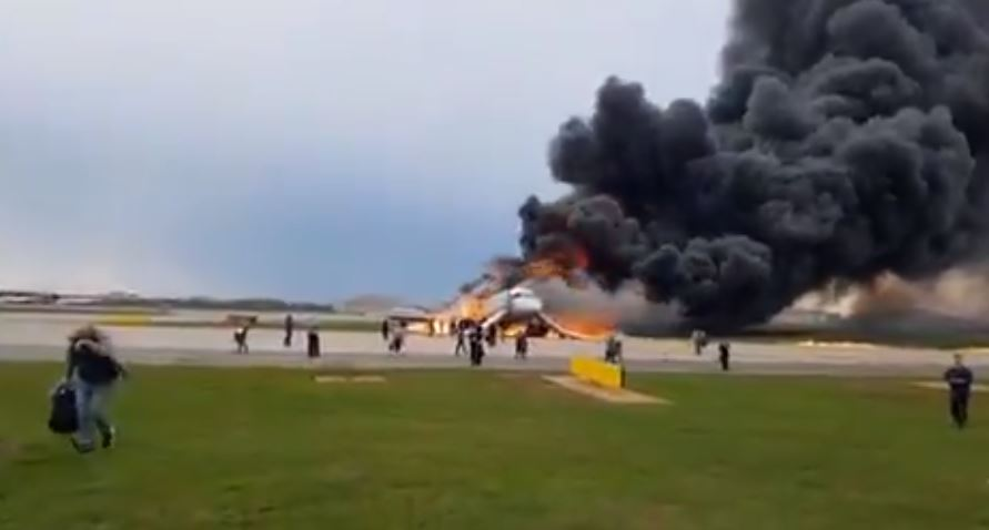 Aeroflot Superjet 100 crash