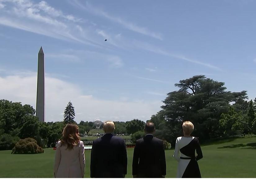 USMC F-35 Flyover White House
