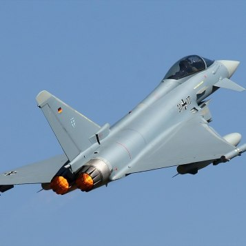 Two German Eurofighter Jets Crashed in Germany