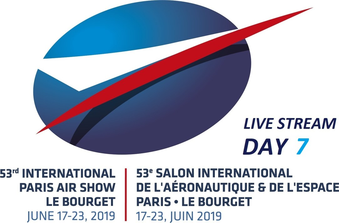 Watch the live stream of the last day of the Paris Airshow