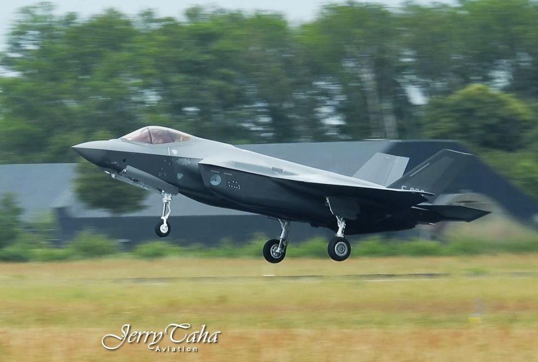 RNLAF F-35 F-008 Volkel AB