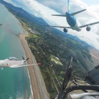 SPECTACULAR VIDEO OF AER LINGUS A320 AT IRISH AIRSHOW