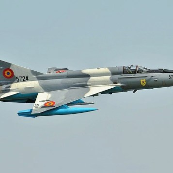 Romanian Air Force MiG-21 Lancer at RIAT 2019