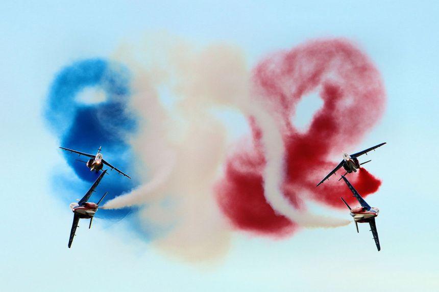 Alpha Jets from patrouille de France
