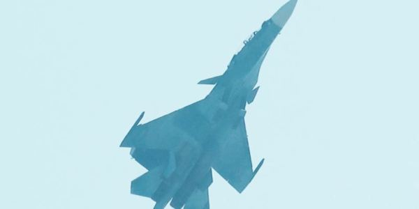 Su-35 Extreme High Alpha Maneuver - Image: © Jerry Taha