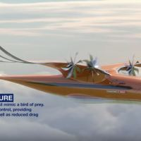 AN AIRBUS INNOVATION: 'BIRD OF PREY' AIRCRAFT, INSPIRED BY NATURE