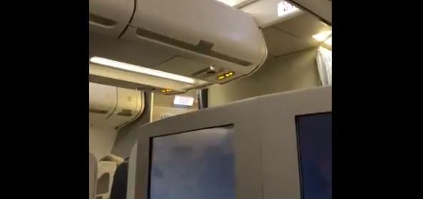 CAPTAIN APOLOGIES TO PASSENGERS AFTER ACCIDENTLY ACTIVATING HIJACK ALARM AT AMSTERDAM AIRPORT