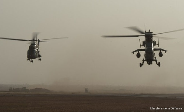 13 French soldiers were killed in Mali in mid-air collision between French Army Cougar and Tiger helicopters