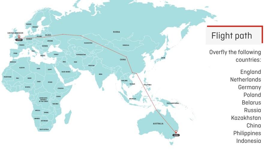 Qantas Project Sunrise Non-Stop Flight London - Sydney
