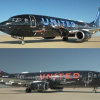 UNITED REVEALES ITS B737 WITH STAR WARS LIVERY - FLY THE FRIENDLY GALAXY