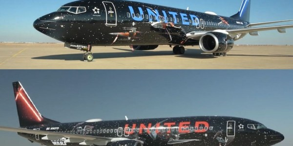 United B737 Star Wars Livery