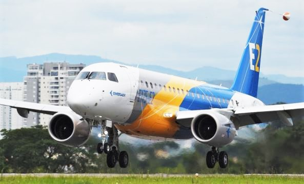 Embraer E175 E-2 first flight