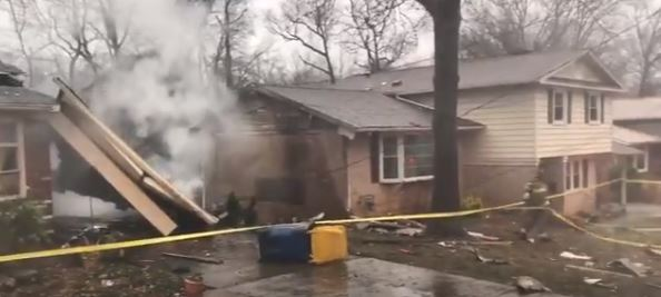 Plane crashes into home in Maryland