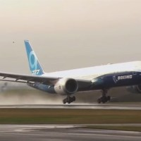 THE BOEING 777X TAKES FLIGHT FOR THE FIRST TIME