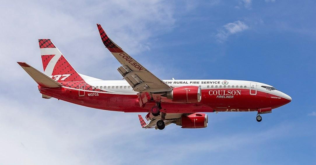 RFS Boeing-737 sent on more than 600 missions in Australia this bushfire seasonin Australia