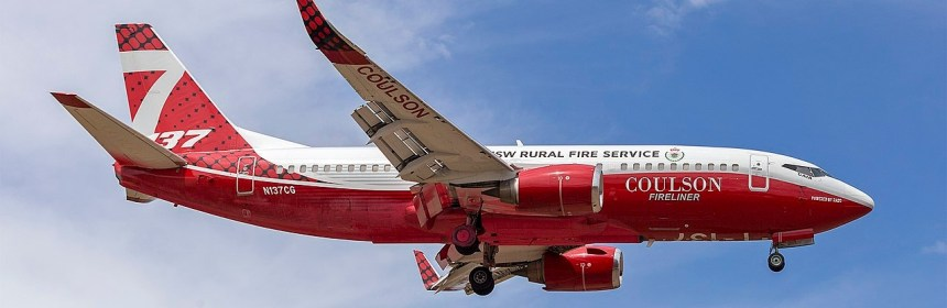 RFS Boeing-737 sent on more than 600 missions in Australia this bushfire seasonin Australia
