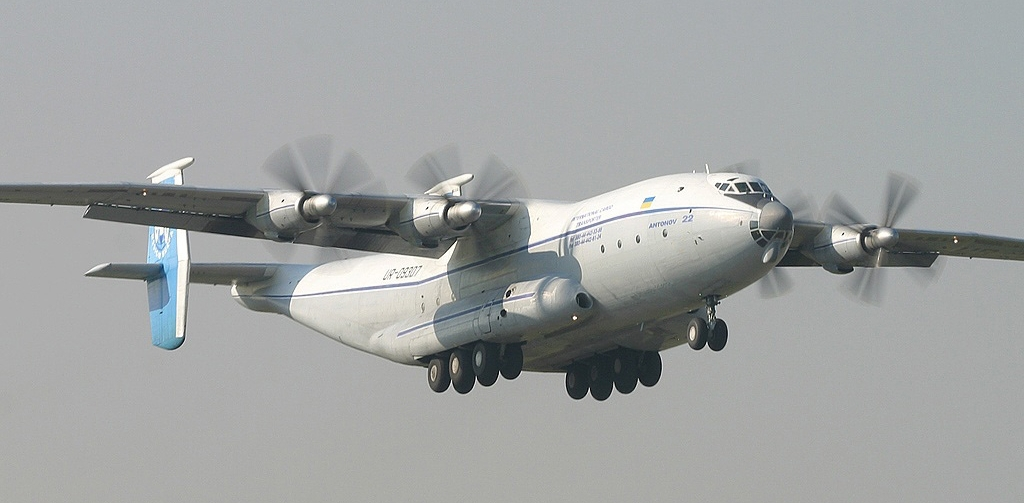 55 years after the Antonov AN-22's first flight