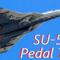VIDEO - RUSSIAN SU-57 PERFORMS A PERFECT 'PEDAL TURN' AT MAKS 2019