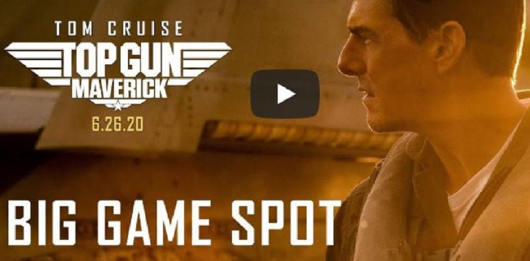 Paramount releases third trailer of Top Gun: Maverick - Big Game