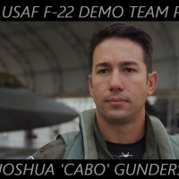 MEET USAF F-22 DEMO TEAM PILOT MAJ. JOSHUA 'CABO' GUNDERSON