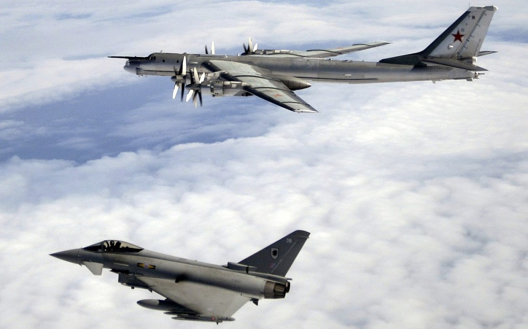 RAF Tyhoons scrambled to intercept Russian Tu-142