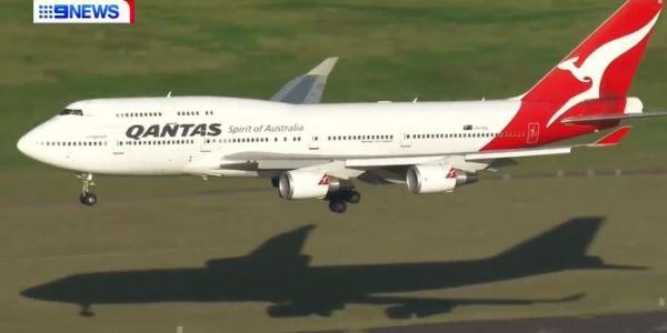 Last Flight of Qantas Boeing 747