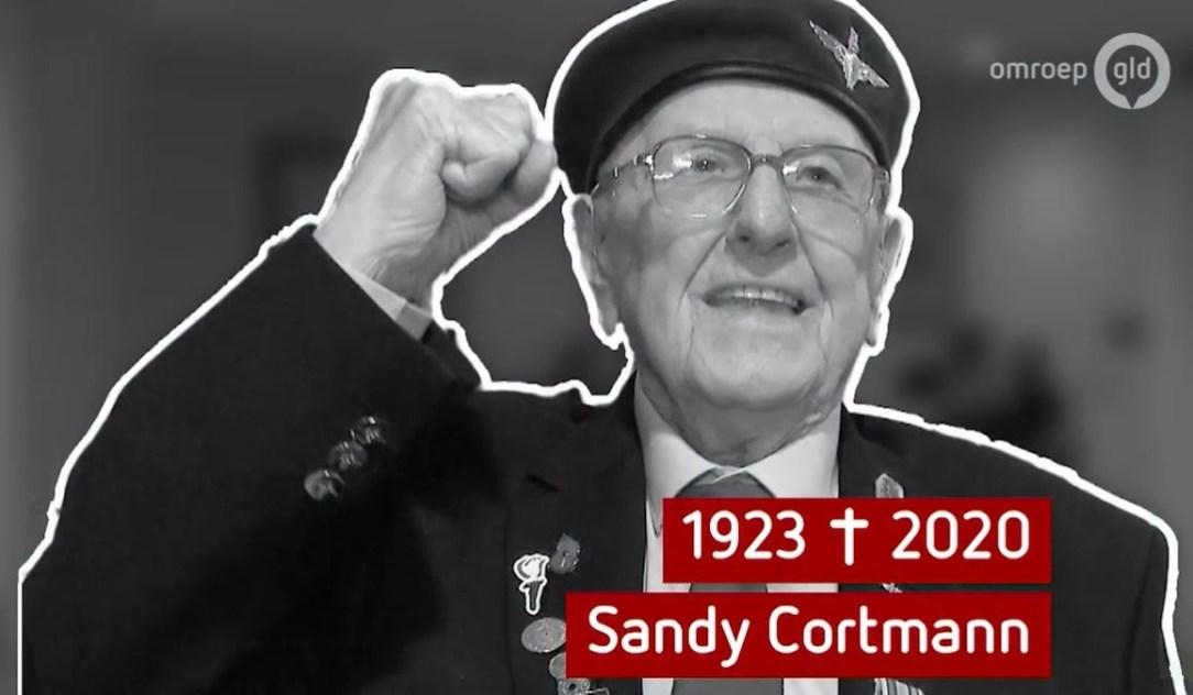 War veteran Sandy Cortmann dies at the age of 97