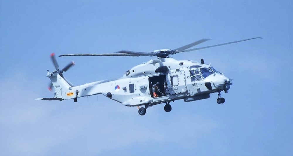 A RNLAF NH90 Helicopter Has Crashed In The Carribean