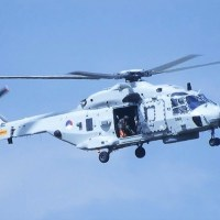 A ROYAL NETHERLANDS NAVY NH90 HELICOPTER HAS CRASHED IN THE CARIBBEAN SEA