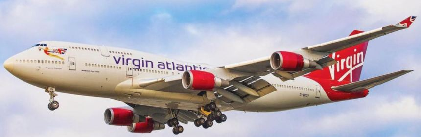 LAST BRITISH BOEING 747 MAKES LAST FLIGHT FROM LONDON HEATHROW