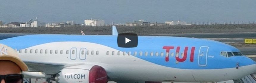 Live Stream Amsterdam Schiphol Airport - Testflight TUI 737 MAX-8